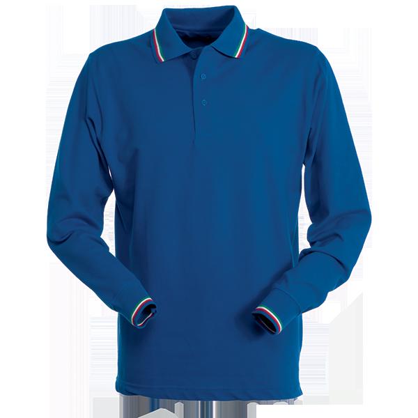 PAYPER Unisexová polokošile s dlouhým rukávem Aviazione PAYPER Královská modrá M