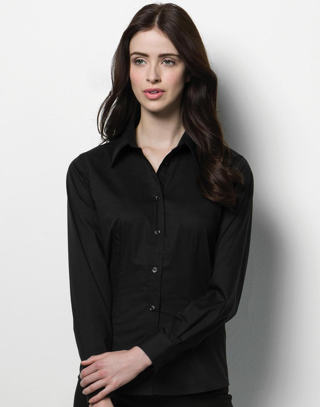 Bargear Dámská Bar košile s dlouhým rukávem Bargear Černá S