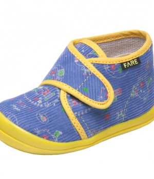 Dětské papuče na suchý zip Fare 4012406 a9fcda813d