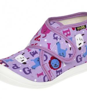 Dětské papuče na suchý zip Fare 4113446 2071c37141