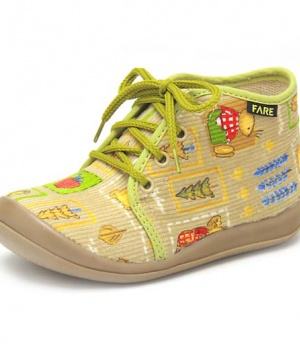 Dětské papuče šněrovací Fare 4112483 3a1b5b3290c