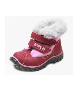bde7f6ab550 Dětské zimní boty kotníkové 849155 FARE