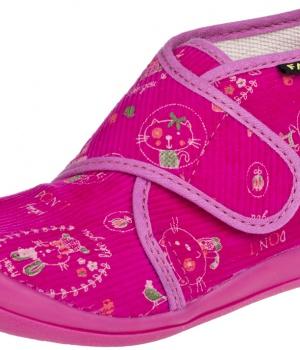 d1cea94bbc0 Dětské papuče na suchý zip 4113445 FARE