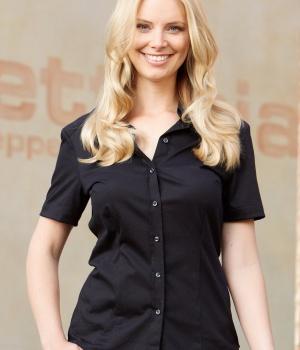 5b2ea17f5a9 Dámská košile s krátkým rukávem Gissi CG Workwear