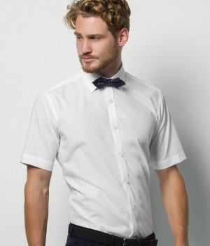 Pánská košile s krátkým rukávem Slim Fit KUSTOM KIT KK191 04c422a3608