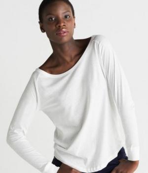 Dámské triko s dlouhými rukávy Loose Fit MANTIS f9a6545e7c