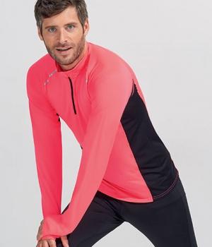2b8a540a07cd Pánské sportovní triko s dlouhým rukávem Berlin Men Sol s (01416)