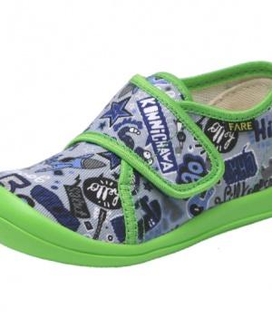 a5bd169d81 Dětské papuče na suchý zip Fare 4115409