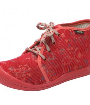 Dětské papuče šněrovací Fare 4112441A 1a6292414e