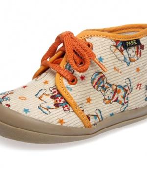 b9fa5c0cefb Dětská domácí obuv. Dětské papučky šněrovací Fare 4011481