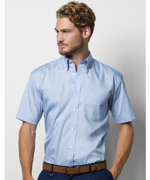 Pextex.cz - Pánská firemní košile Oxford s krátkým rukávem Kustom kit 5d3d7990d3