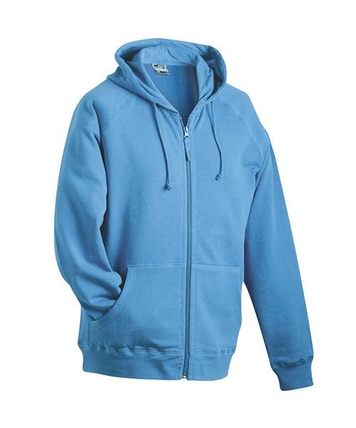 770e55086c5 Pextex.cz - Pánská mikina s kapucí James   Nicholson Hooded Jacket - modrá