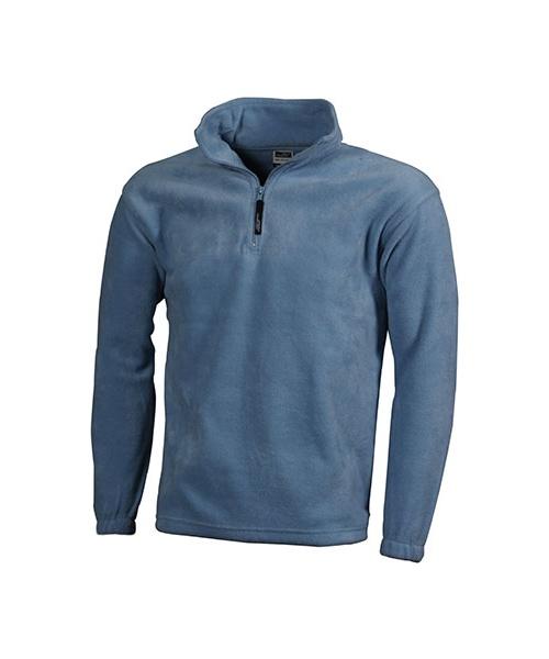2daa1789933 Pextex.cz - Fleecová mikina James   Nicholson Half-Zip Fleece - světle modrá