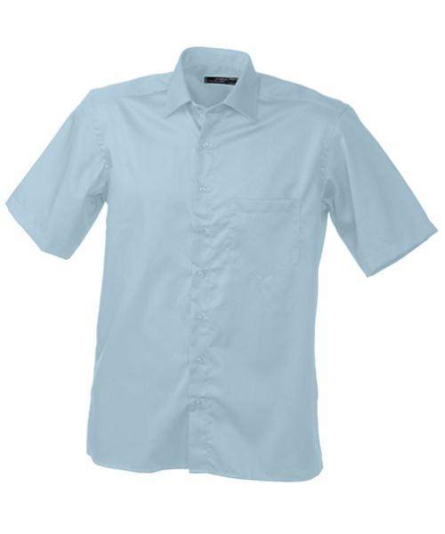 Pextex.cz - Pánská košile James   Nicholson Men s Business Shirt  Short-Sleeved - 31061363e3