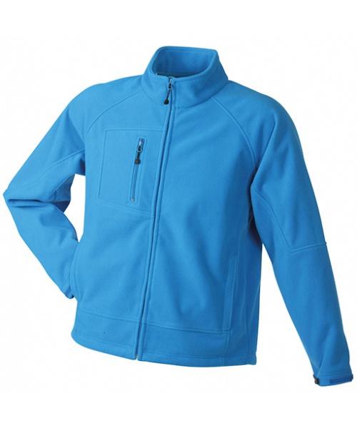 c6bd328671a4 Pextex.cz - Pánská bunda James   Nicholson Men s Bonded Fleece Jacket -  aqua