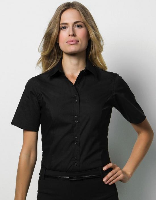 Pextex.cz - Dámská košile s krátkým rukávem City Business Shirt Kustom Kit 957403098ee