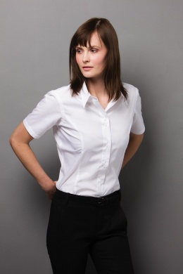 Dámská košile s krátkým rukávem City Business Shirt Kustom Kit ... ff51e99f679