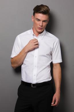 Pánská košile s krátkým rukávem City Business Kustom Kit ... 0c6a3613005