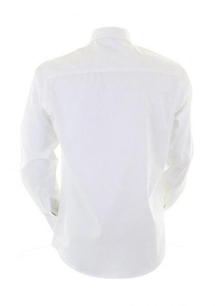 Pánská košile s dlouhým rukávem City Business Shirt Kustom Kit ... 561102352fa