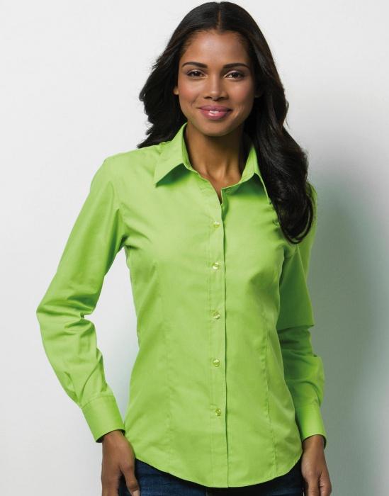 Pextex.cz - Dámská košile s dlouhým rukávem Ladies Long Sleeve Workforce  Shirt Kustom Kit 16e858ac9f