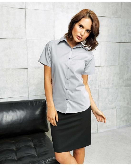Pextex.cz - Dámská košile s krátkým rukávem Premier Workwear PR302 fdd3af8377