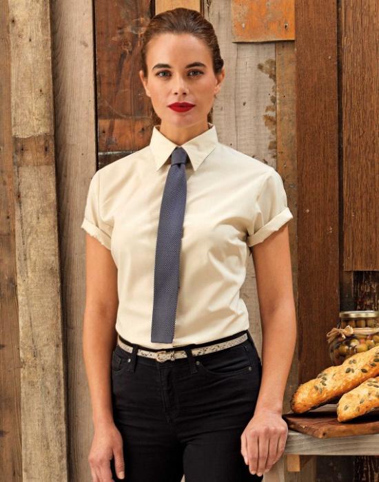 ... Dámská košile s krátkým rukávem Premier Workwear PR302 17c0c55241
