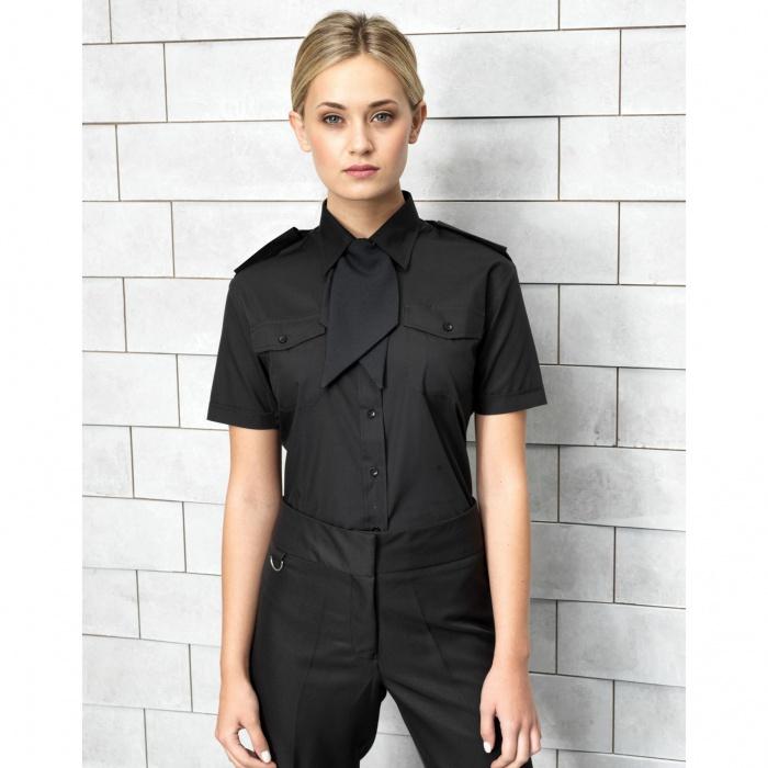 e51920a9a66 ... Dámská košile s krátkým rukávem Premier Workwear ...