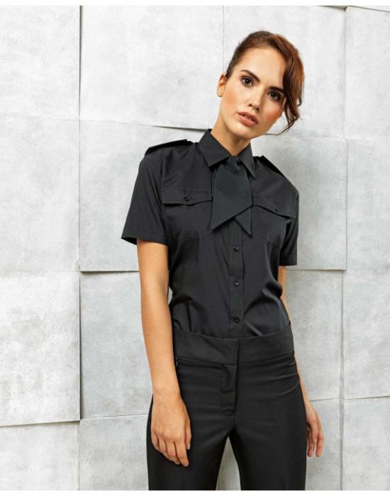 ... Dámská košile s krátkým rukávem Premier Workwear PR312 ... 2eb309e305