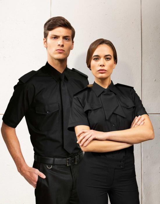 133455eaa3b ... Dámská košile s krátkým rukávem Premier Workwear PR312 ...
