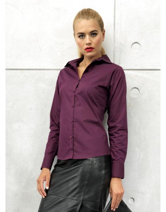 ... Dámská košile s dlouhým rukávem Premier Workwear ... 052524d53a