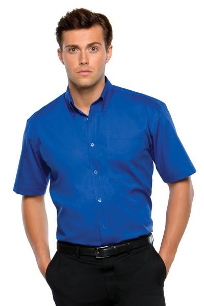 Pánská firemní košile Oxford s krátkým rukávem Kustom kit ... 3c8ceb755d