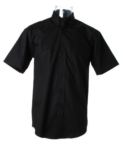 Pánská firemní košile Oxford s krátkým rukávem Kustom kit  721f7f540b