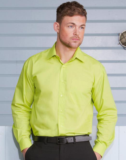 dfafc565da3 Pextex.cz - Pánská košile s dlouhým rukávem Poplin Russell europe