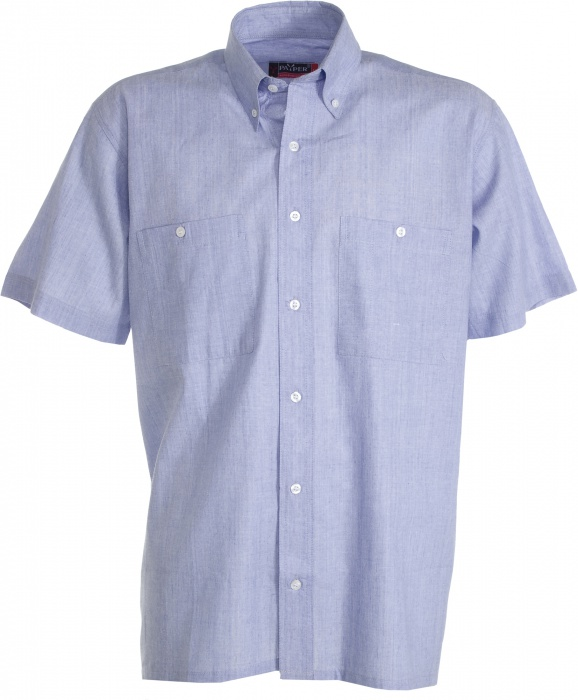Pextex.cz - Pracovní košile Chambray PAYPER. Pracovní košile s krátkým  rukávem ... 6fd63ca73c