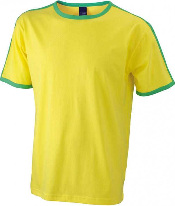 d40945fe07c Pánské triko s krátkým rukávem James   Nicholson JN017
