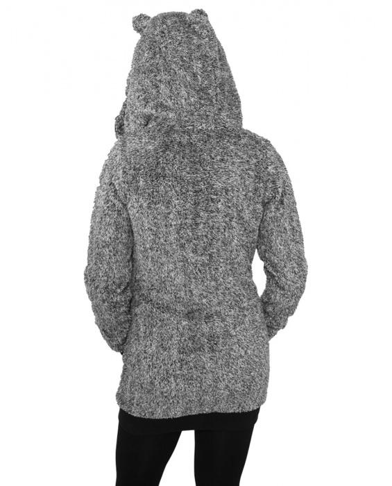 Dámská melírovaná mikina s kapucí Teddy URBAN CLASSICS TB616 ... 21bdbc6899