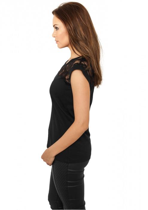 ... Dámské triko bez rukávů s krajkou URBAN CLASSICS TB714 ... 1d38a8fe10