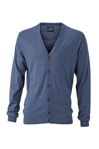 a81a3260524 Pextex.cz - Pánský svetr s knoflíky James   Nicholson
