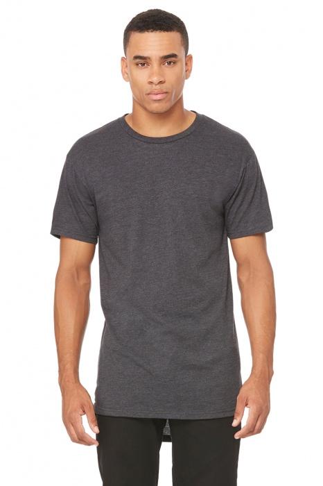 4d351c65b9af Pánské dlouhé triko s krátkým rukávem Bella Canvas