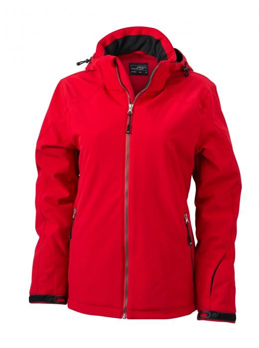 Dámská zimní softshellová bunda s kapucí James   Nicholson JN1053 ... 2dd4d06b654