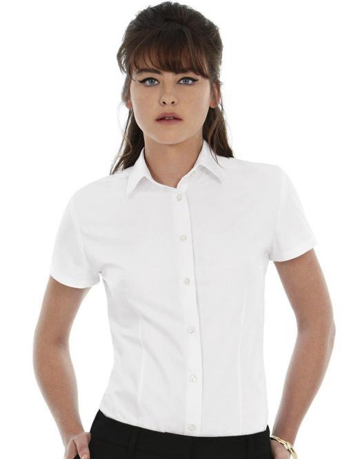 92ebd7f5c46 Pextex.cz - Dámská popelínová košile s krátkým rukávem Herritage B C