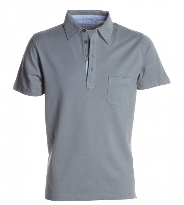 Pextex.cz - Pánské POLO triko s krátkým rukávem Prestige PAYPER Kouřová b16d087985