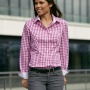 Dámská košile James & Nicholson Ladies' Checked Shirt